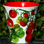 Emma Bridgewater. Melamine beaker Vegetable Garden