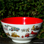 Emma Bridgewater. Melamine bowl Builders at Work