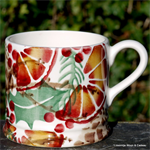 Emma Bridgewater uitverkoop, Baby Mug Hollyb Wreath