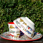 Emma Bridgewater. melamine set/3 Builders at work