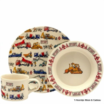 Emma Bridgewater. Melamine. Children set Melamine. Builders at Work melamine