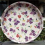 emma bridgewater. large tray Wallflower