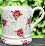 Emma Bridgewater. Tiny Scattered Rose ½ Pint Mug