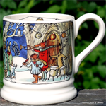 Emma Bridgewater. ½ pint Winter Scene