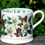 Emma Bridgewater. small mug Hellebores & Holly