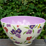 Emma Bridgewater. Wallflower melamine salad bowl