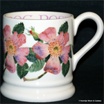 Emma Bridgewater. Dog Rose ½ pint mug