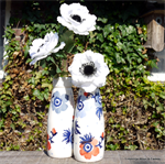 Emma Bridgewater. Anemone small milk bottle