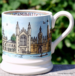 emma bridgewater. cities of dreams ½ pint mug Cambridge