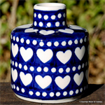 Bunzlau castle. fragrance stick holder Blue Valentine 2395-375E
