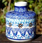 Bunzlau castle. fragrance stick holder Blue Coral 2395-2187