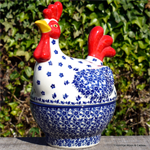 Bunzlau Castle kip. chicken small Indigo 2361-2496