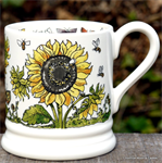 Emma Bridgewater mokken. ½ pint mug Sunflowers