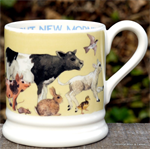 Emma Bridgewater mokken. ½ pint mug Bright new Morning