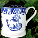 Emma Bridgewater. Lion ½ pint mug