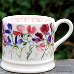 Emma Bridgewater. Sweet Pea Multi small mug