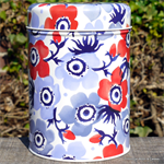emma bridgewater. tin caddy Anemone