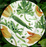 Emma Bridgewater, 8½ plate Yellow Courgettes