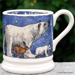 Emma Bridgewater. Winter Animals ½ pint mug