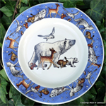 Emma Bridgewater 8½ plate Winter Animals