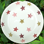 Emma Bridgewater. Servies, Pink & Gold Stars Small Pasta Bowl