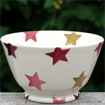 Emma Bridgewater. small old bowl Pink & Gold Stars