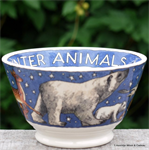 Emma Bridgewater. small old bowl Winter Animals