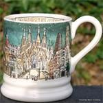 emma bridgewater. cities of dreams ½ pint mug Barcelona