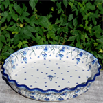 Bunzlau Castle. pie dish with edges oval ovendish Daydream 1636-2524