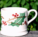Emma Bridgewater, small mug Winterberry