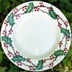 Emma Bridgewater. 10½ plate Winterberry
