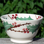 Emma Bridgewater. small old bowl Winterberry