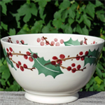 Emma Bridgewater. medium old bowl Winterberry