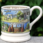 emma bridgewater. cities of dreams ½ pint mug Beautiful England