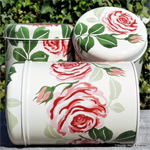 emma bridgewater sale. tin set / 3 caddy's Red Roses