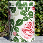 emma bridgewater. tin caddy Red Roses