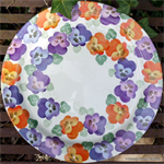 Emma Bridgewater. Purple Pansy serving plate