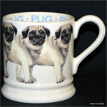 Emma Bridgewater. Servies, Pug ½ Pint Mug