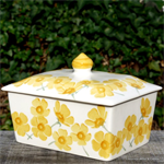 emma bridgewater. Servies. Small Butterdish Buttercup