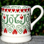 Emma Bridgewater Christmas Joy ½ pint mug