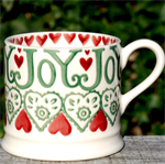 Emma Bridgewater small mug Christmis Joy
