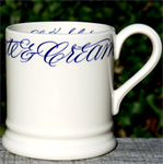 Emma Bridgewater Copperplate ½ pint mug