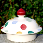 emma bridgewater, Polka Dot lid for 4 mug teapot