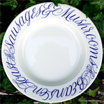 Emma Bridgewater. Copperplate 10½ Plate