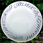 emma bridgewater. ½ pint mugs / servies, Copperplate pasta bowl