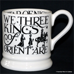 emma bridgewater. ½ pint mug We Three Kings