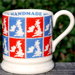 emma bridgewater. ½ pint mug Handmade UK