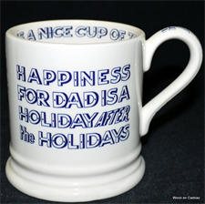 emma bridgewater sale. Happiness ½ pint mug