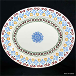 emma bridgewater sale. medium platter folk border