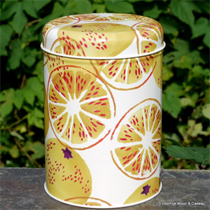 emma bridgewater. tin caddy Marmalade
